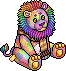 Plushie c20 rainbowlion1.png