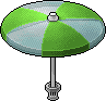 Green Parasol Open.png